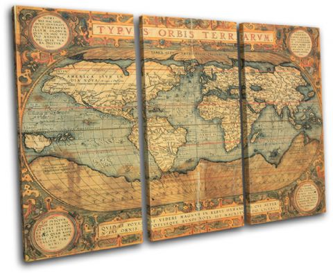 Old World Atlas Maps Flags - 13-0768(00B)-TR32-LO